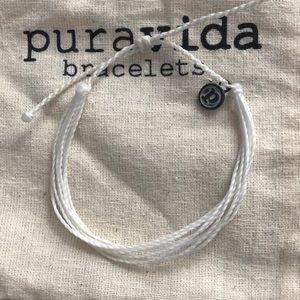 Solid White Pura Vida Bracelet